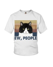 Ew People Funny Cat Youth T-Shirt thumbnail