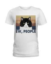 Ew People Funny Cat Ladies T-Shirt thumbnail