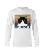 Ew People Funny Cat Long Sleeve Tee thumbnail