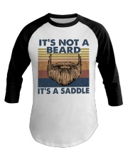 Its Not A Beard Baseball Tee thumbnail