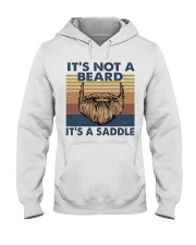 Its Not A Beard Hooded Sweatshirt front