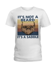 Its Not A Beard Ladies T-Shirt thumbnail