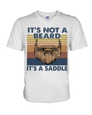 Its Not A Beard V-Neck T-Shirt thumbnail