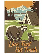 Live Fast Eat Trash 11x17 Poster front