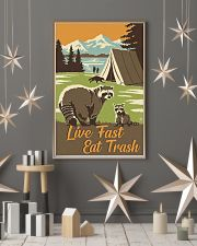Live Fast Eat Trash 11x17 Poster lifestyle-holiday-poster-1
