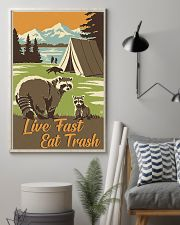Live Fast Eat Trash 11x17 Poster lifestyle-poster-1