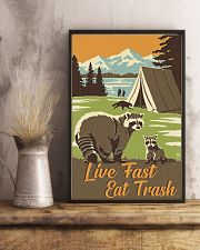 Live Fast Eat Trash 11x17 Poster lifestyle-poster-3