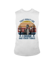 I Drink And I Know Things Sleeveless Tee thumbnail