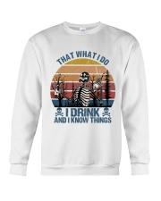 I Drink And I Know Things Crewneck Sweatshirt thumbnail