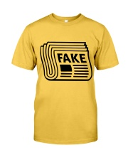 Newspaper Fake Funny Shirt Classic T-Shirt front