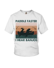 Paddle Faster I Hear Bajos Youth T-Shirt tile