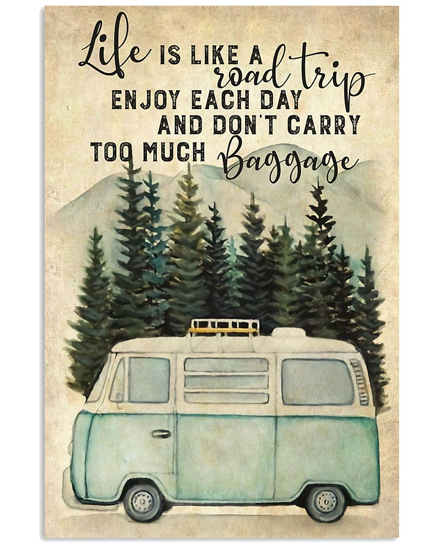 Life Is Like A Road 11x17 Poster