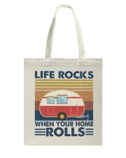 Life Rocks When Your Home Tote Bag thumbnail