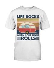 Life Rocks When Your Home Classic T-Shirt thumbnail