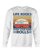 Life Rocks When Your Home Crewneck Sweatshirt thumbnail