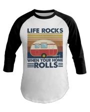 Life Rocks When Your Home Baseball Tee thumbnail