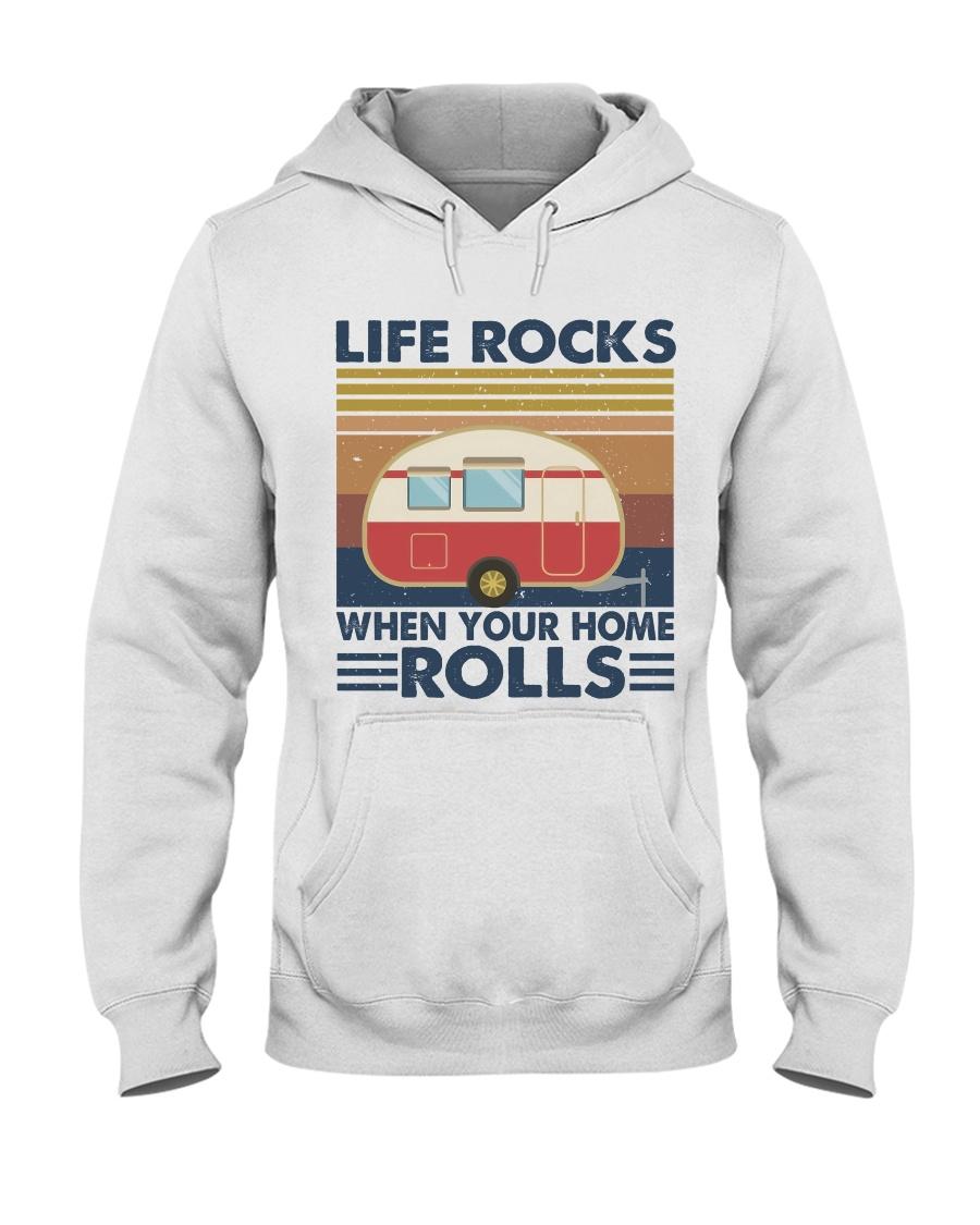Life Rocks When Your Home Hooded Sweatshirt