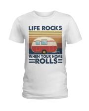 Life Rocks When Your Home Ladies T-Shirt thumbnail