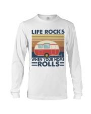 Life Rocks When Your Home Long Sleeve Tee thumbnail