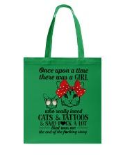 Cats And Tattoos Tote Bag thumbnail