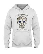 I'm Blunt Hooded Sweatshirt front