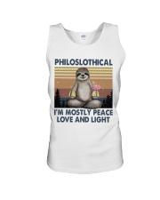Philoslothical Unisex Tank thumbnail