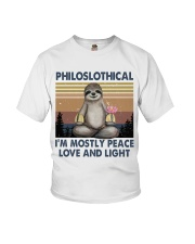 Philoslothical Youth T-Shirt thumbnail