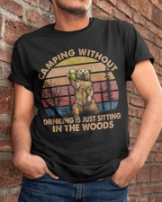 Camping Without Drinking Classic T-Shirt apparel-classic-tshirt-lifestyle-26