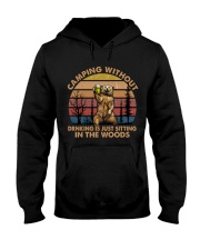 Camping Without Drinking Hooded Sweatshirt thumbnail