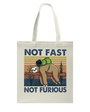 Not Fast Not Furious Tote Bag thumbnail