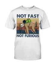 Not Fast Not Furious Classic T-Shirt tile