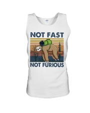 Not Fast Not Furious Unisex Tank tile