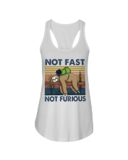 Not Fast Not Furious Ladies Flowy Tank thumbnail
