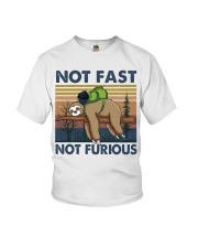 Not Fast Not Furious Youth T-Shirt thumbnail