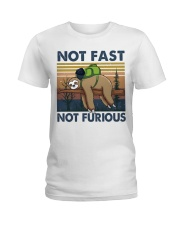 Not Fast Not Furious Ladies T-Shirt thumbnail
