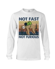 Not Fast Not Furious Long Sleeve Tee thumbnail