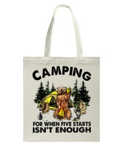 Camping For When Five Stars Tote Bag thumbnail
