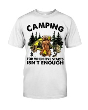 Camping For When Five Stars Classic T-Shirt thumbnail