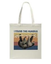 I Found This Humerus Tote Bag thumbnail