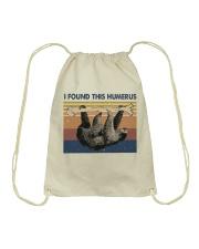 I Found This Humerus Drawstring Bag thumbnail