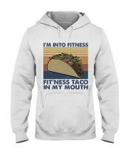 Im Into Fitness Hooded Sweatshirt front