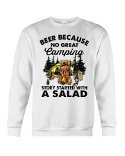 Beer Because No Great Crewneck Sweatshirt thumbnail