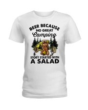 Beer Because No Great Ladies T-Shirt thumbnail