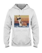 No Problama Hooded Sweatshirt front