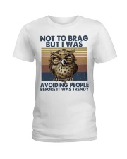 Not To Brag But I Was Ladies T-Shirt thumbnail
