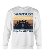 Sawdust Is Man Glitte Crewneck Sweatshirt thumbnail