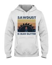 Sawdust Is Man Glitte Hooded Sweatshirt front