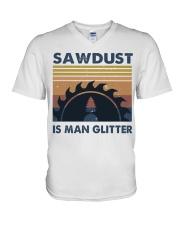 Sawdust Is Man Glitte V-Neck T-Shirt thumbnail
