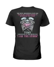 The Devil Whispered Ladies T-Shirt thumbnail