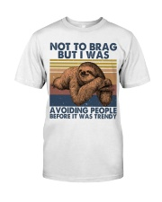 Not To Brag But I Was Classic T-Shirt thumbnail